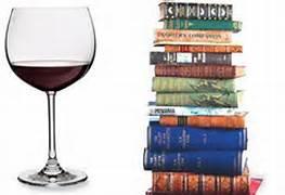 books wine